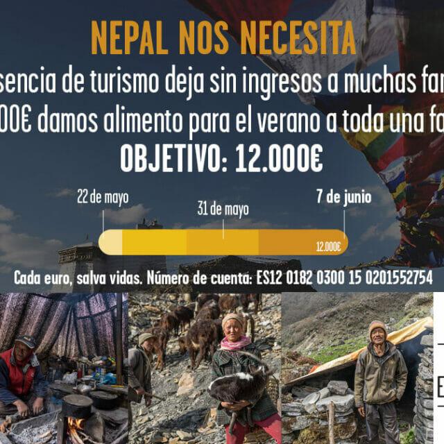 Ayudas para el Nepal COVID-19